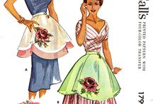 Ole School Aprons that are cute for Desiree'