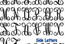 Monograms / Wedding