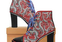 Hot! Printed Ankle Boots by Juleez