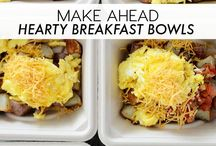 Make ahead meal bowls