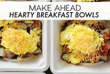 Make ahead meal bowls