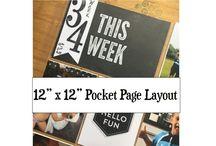 Pocket Page Scrapbooking