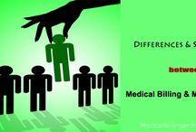 Differences & Similarities between Medical Billing & Medical Coding