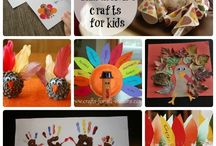 Thanksgiving/Fall Activity and Craft Ideas