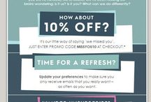 Re-engagement Ideas / It's important to keep your contacts engaged and sometimes you may need to wake them up. Here are some re-engagement email examples!
