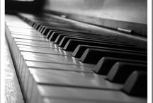 Pianos, instruments and music