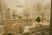 Shabby Chic Ideas for the House / Shabby chic design and decor.