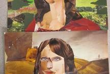 Art: Collage / kollaasi