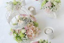 Wedding ideas: lovely centerpiece Spring