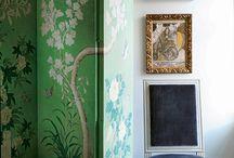 Walls / Wallpaper, Screens, Treatments