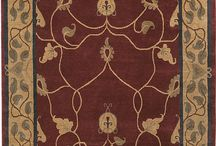 Craftsman Collection / The Craftsman Collection of carpets, hand-carded, hand-spun, hand-dyed and hand-knotted at a rate of 70 knots psi, are based on authentic designs and motifs that embody the true spirit of the Arts & Crafts Movement.