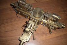 machine tools art / industrial machine sculpture