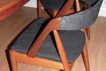 Omklädnad stolar