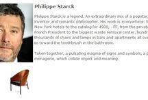 Bauhaus Designer - Philippe Starck / Philippe Starck ist eine Legende. Eine aussergewöhnliche Mischung aus Popstar, verrücktem Erfinder und romantischen Philosophen.◥◣◥◣◥◣ Philippe Starck is a legend. An extraordinary mix of a popstar, crazy inventor and romantic philosopher.