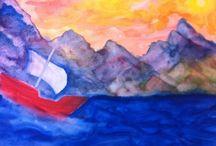 vierde klas schilderen