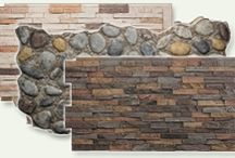 faux stone/brick panels veneers
