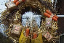 19. kransen feestdagen ❤ wreath holidays