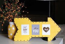 DIY Home Decor Ideas / Great DIY and home decor ideas using @PebblesInc collections. / by Pebbles Inc