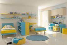 Contemporary Twin Modern Kids Bedroom Furniture Sets for Girls / Modern bedroom furniture sets for kids can be truly an issue on the off chance that you have 2 kids which means, that you will require more space for beds. Other bedroom furniture sets may need to be relinquished subsequently. But look at the room as entire and check whether there is bunches of vertical space. You can make utilization of lofts rather so you can amplify the accessible space in the room.