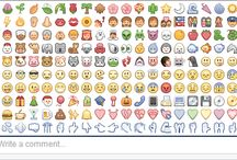 Emoticons / by Ginney Brewer