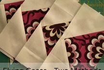 Quilting - Modern Quilt Inspiration / Modern Quilts, fresh Quiltdesign, Quiltprojects, Inspirations