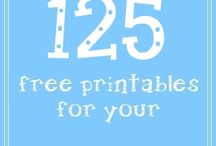 Printables / Free and Paid Printables
