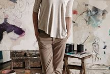 Pantalón beige/ marrón