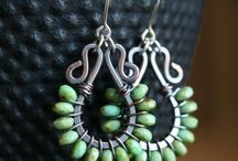 Love the Wire- Earrings & Ear Cuffs / by Lisa Albus Guess