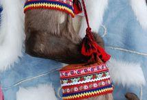 Saami people/Inuit people/northern hemisphere / saami and inuit culture / by Annelies de Haan