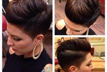 vlasy - krátké