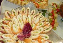 mini sanduíche para festas