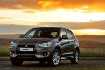 Mitsubishi ASX 13MY / An efficient compact crossover, equally at home in town or carrying a couple of mountain bikes!