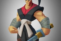 LowPoly Game Char Model