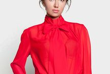 Red Bow Blouse 1