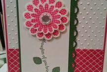 Cards ~ S/U Polka Dot Pieces