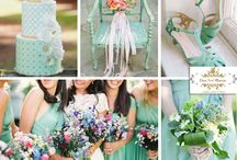 Spring Weddings / Ideas and Trends for Spring Weddings that embodies the Spring 2015 colors!