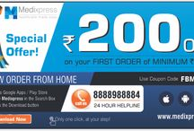 Medixpress- Special Offer for Gudi Padwa / Medixpress festive Offer!!! Get Rs. 200/- OFF on your medicines with FREE home delivery.. May this Gudi Padwa bring Joy, Health and wealth to you... Download medixpress and get extra disounts For more details visit www.medixpres.com or call @ 8888988884