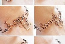 Handmade【wire letters】