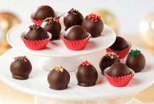τρουφάκια και σοκολατάκια