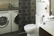 Ideas for bath/laundry room / by Lesley Thacker