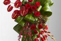 wiązanki z kwiatów