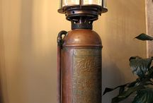 Extinguisher lamps