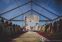Indian/Hindu Weddings / Indian  Wedding inspirations Beautiful Mandaps  and   Mendhi and Sangeet  party ideas