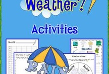 Weather / Science activities for Reception students
