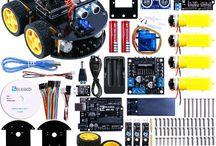 Robotica, Linux, Open source / Prodotti legati alla robotica, da droni e veicoli vari, basati su hardware e software open source come controller Arduino e Linux.
