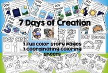 Kids bible stories/activities