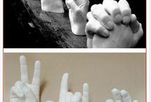 moldes de mano
