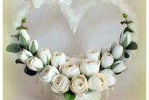 Dekoráció esküvőre.