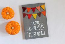 Fall/Autumn things