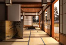 Japanese style home deco